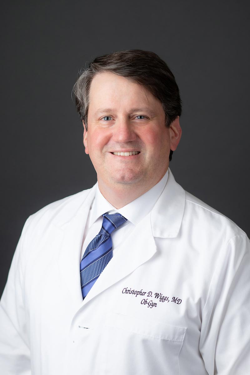 CHRISTOPHER D. WIGGS, M.D.